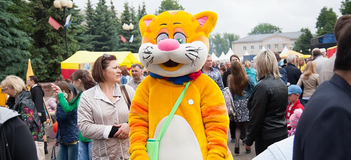 «Тонус КРОХА» на фестивале Семёновской хохломы