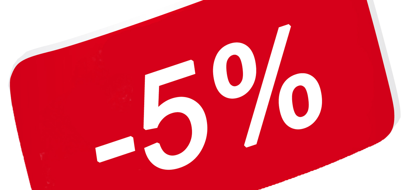 С 1 января 2018 года устанавливается постоянная скидка 5% для незащищенных слоев населения