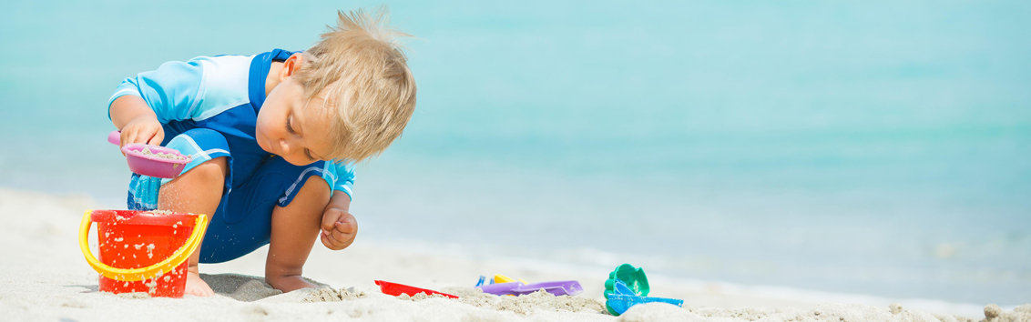 На море с малышом