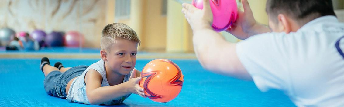 лечебная физкультура (ЛФК) для детей